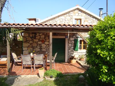 Photo for Lovely stone cottage in Pula area