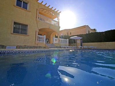Photo for Spacious Tosal villa with 6 bedrooms, garden, parking, wifi and private pool