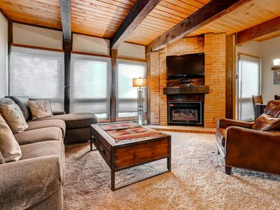 Photo for Lovely condo built for gathering family together - close to ski area & trails!