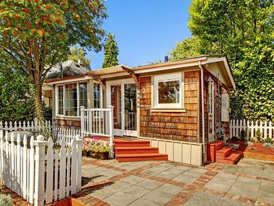 Photo for Adorable Tiny Home in Beautiful Ballard, Walkable Cottage Close to Transit! WiFi, Cable, Full Kitchen, Private Entry!