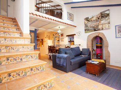 Photo for RUSTIC APARTMENT IN THE OLD TOWN TOSSA 2