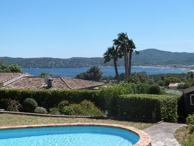 Photo for Villa on the top of Grimaud with swimming pool and very beautiful sea view