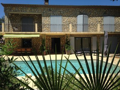 Photo for LARGE STONE HOUSE WITH SWIMMING POOL AND LAND