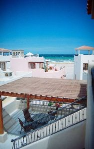 Sea of Cortez facing BBq deck, great for entertaining 300 ft from Sea - VIEWs!