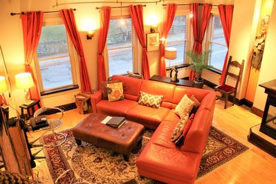 Fabulous City Triplex!  Fort Hill Inn,  Boston for best rates and more details