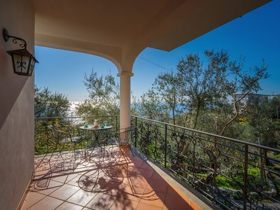 Photo for Villa Gea with Sea View and Parking near the Beach