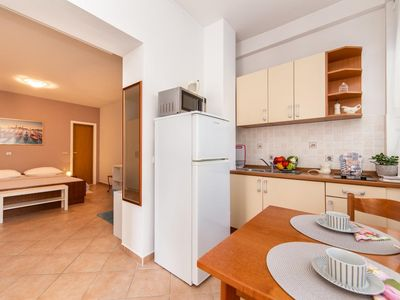 Photo for Studio flat with terrace Baška Voda (Makarska)