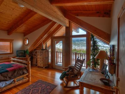 Photo for Rustic Colorado Log Cabin for Your Ski or Summer Stay