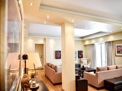 Photo for Athinas' Luxury Apartment welcomes you to Kolo... - Two Bedroom Apartment, Sleeps 4