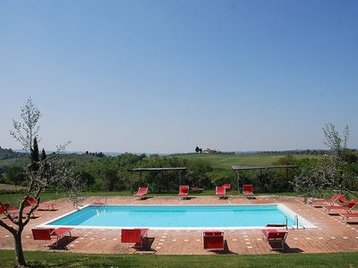 Photo for Casa Cassiodoro F: A graceful apartment surrounded by vineyards and olive groves.