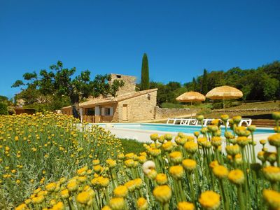 Photo for LA BERGERIE - Private pool - Authentic hamlet - La Vraie Provence