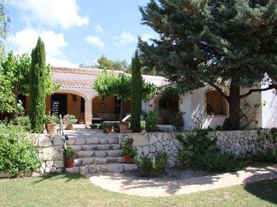 Photo for Charming Villa with character, beautiful garden &  large  pool.Now with Airco.