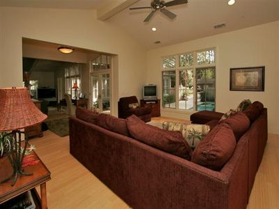 Photo for Sea Pines - Oceanside, Luxury, 4 Br En-Suites, Private Pool, Largest Beaches!