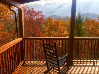 Photo for Secluded & Very Private - Great Views - Gated Community - New Hot Tub & Deck TV