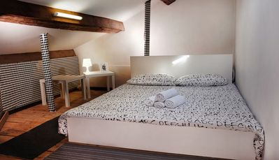 Photo for ATTIC DOUBLE BEDROOM IN THE HEART OF VENICE
