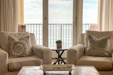 Beautiful Views of the Gulf of Mexico from the Open Living Area