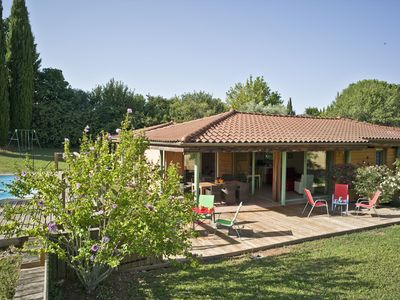 Photo for AIX EN PROVENCE superb architect house with pool and panoramic views