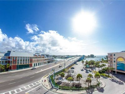 Photo for Top Floor Corner Unit at John's Pass Astounding Views! Master Bedroom access to balcony. - Free Wifi
