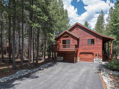 Photo for Davos- Beautiful 3 BR 3 Bath Tahoe Donner Home with NEW Hot Tub
