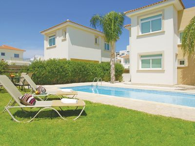 Photo for Cherise Villa - Amazing Villa in the centre of Protaras with Private Pool and Beautifully Landscaped Garden! - Free WiFi