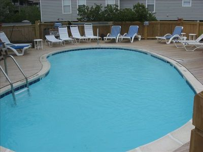 Photo for Outer Banks Vaca Home 3rd Row, 150 Feet to Beach Access, Pool