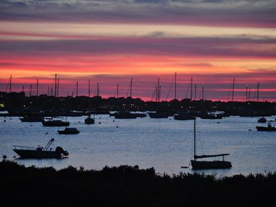 Photo for Monomoy harborfront - best views on island, close to town and beaches