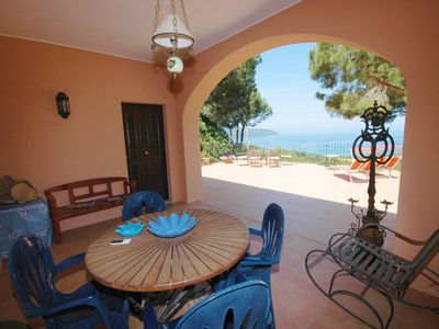 Photo for Large villa with beautiful sea view