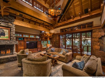 Photo for Stunning Big Springs Residence with Private Hot Tub! - Gray Wolf Northstar