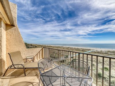 Photo for Waterfront, oceanview condo with shared tennis, pools, hot tub, & beaches