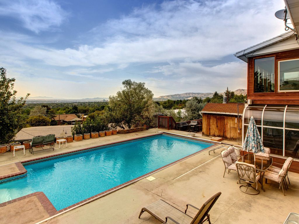 Stunning Valley Views in Salt Lake City - Fantastic Backyard with Pool Area