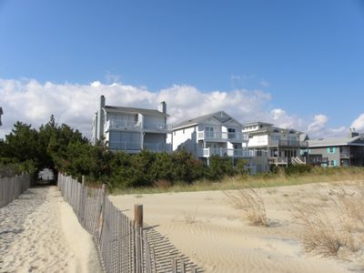 Photo for Direct Ocean Front Townhouse w/ multiple decks updated & gorgeous