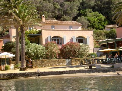 Photo for Villa Art Deco located in the charming little port of the island of Port-Cros
