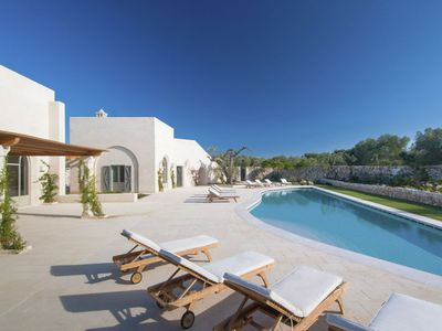 Photo for June Offers - Luxury Rental Villa with pool in Puglia - Beautiful Beaches