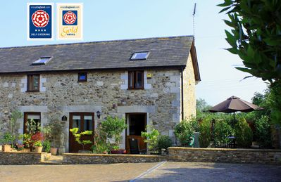 Photo for Character Barn With Sun Terrace Near Village Of Colyford, Devon