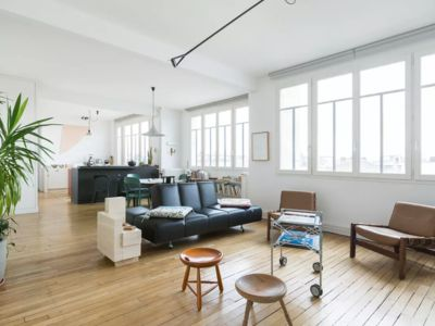 Photo for Amazing Parisian loft in the heart of the Marais