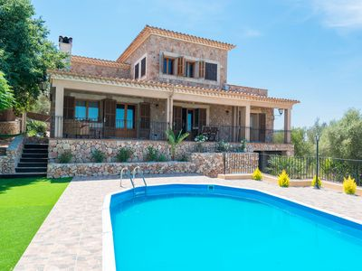 Photo for SES COVES - Villa with private pool in Santa Eugenia.