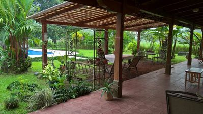 Photo for A spacious country villa with private swimming pool for families and couples.
