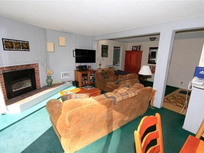 Photo for Mammoth Ski and Racquet Club #104, 2 Bedrooms 2 Full Bathrooms, Pet Friendly, Partial View