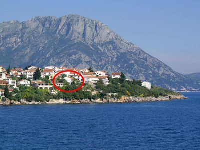 Photo for Studio appartment in Podaca (Makarska) capacity 2+2