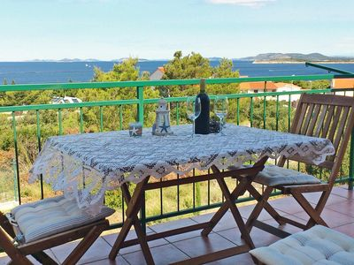 Photo for Two bedroom apartment with terrace and sea view Primošten (A-4268-b)