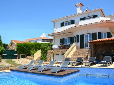Photo for Villa for 12+2 with swimming pool, games room and amazing views over the ocean