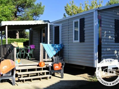 Photo for Camping Club Les Brunelles ***** - Maeva Camping - Cottage Flores Comfort 3 Rooms 4/6 People