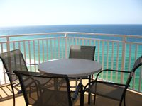 Beautiful views in a large lovely condo, with wonderful owners