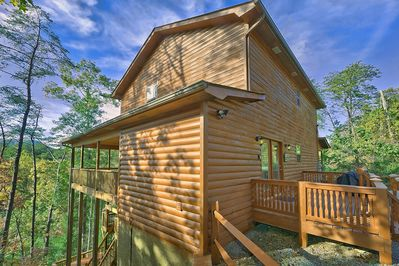 3 Bedroom Smoky Mountain Cabin Rental With Theater Room Pool Table Hot Tub Pigeon Forge