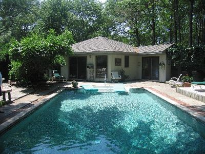 Photo for Quiet Haven With Pool & Spa 15 Minutes Away From The Bustle Of The Hamptons.