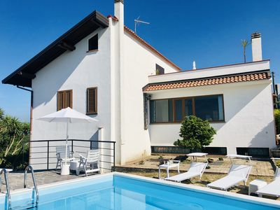 Photo for Private villa with pool 15 minutes from the sea on a Capo d'Orlando hills