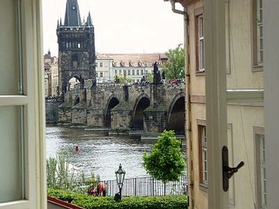 View from Master bedrooms / Charles Bridge