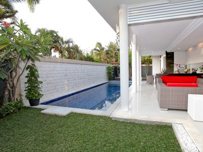 Photo for 2 BR Deluxe 2-story villa features a private pool in heart of Seminyak