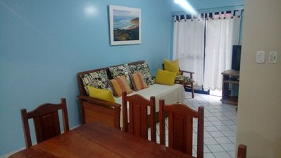 Photo for Excellent two bedroom in Praia Grande - Ubatuba (150 m from the sea)