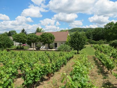 Photo for Contemporary two bedroom house in the vineyards between Santenay and Nolay